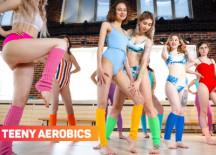 10 Girls Aerobics